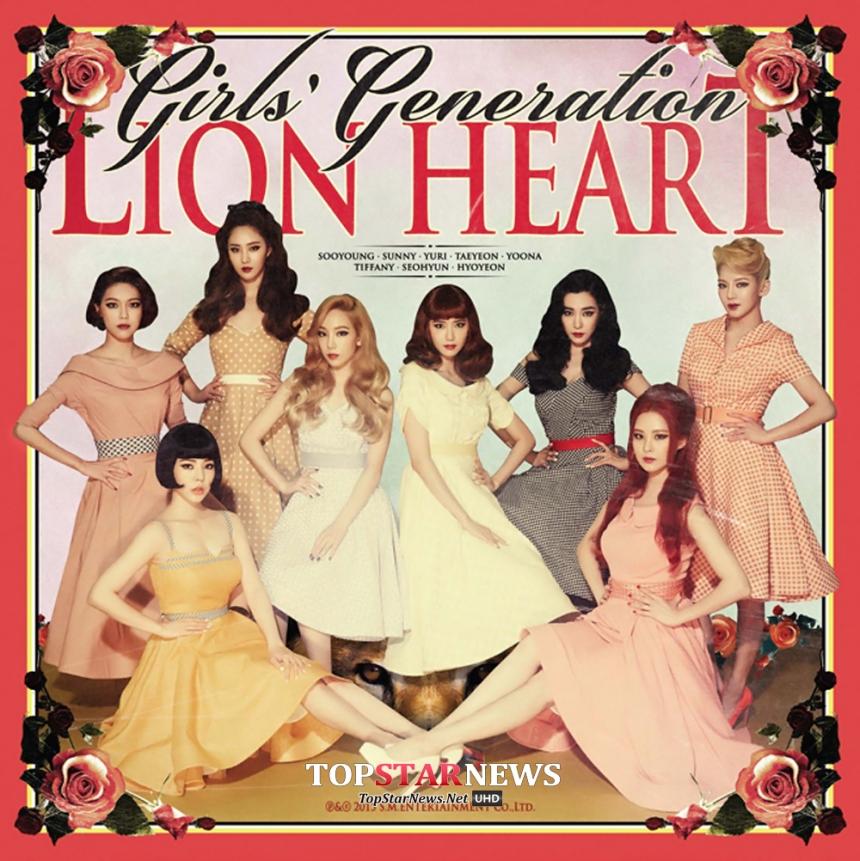 最近以新歌《Lion Heart》回歸舞台的少女時代! 在各音樂節目上獲得冠軍大獲全勝!