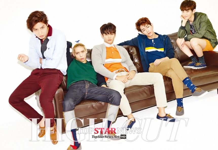 SHINee - 出道前在SM娛樂中的代稱「孩子組」