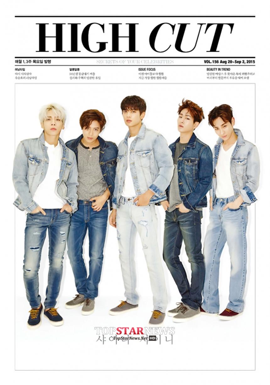 SHINee - 原取名為Luxury Boys  貴氣男孩 (噗~抱歉我失態了)