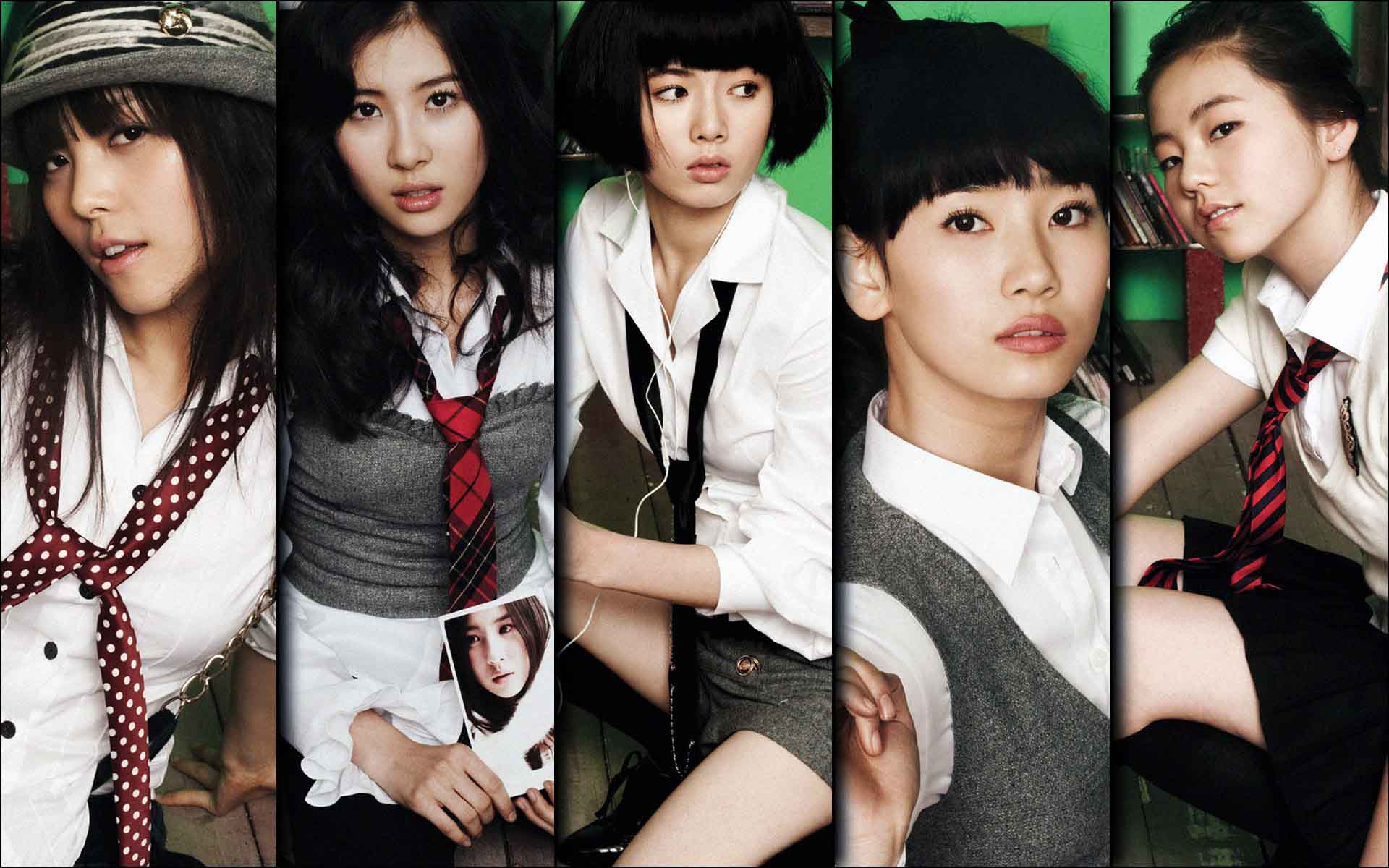Wonder Girls - LC  是Ladies Club的縮寫,女孩俱樂部