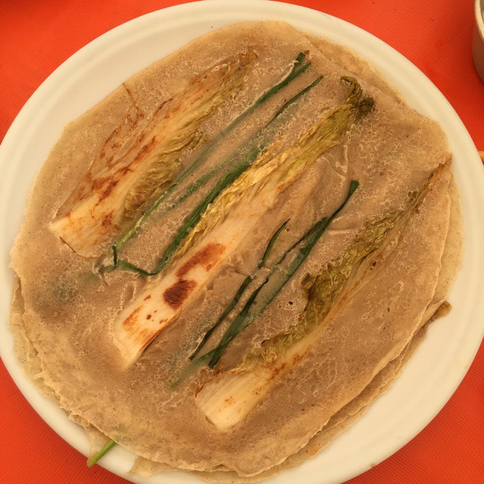蓬坪是韓國蕎麥的故鄉,蕎麥白菜煎餅豈容錯過? ! !