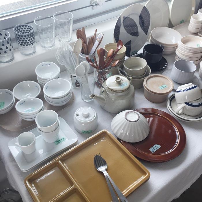 HOCOO Shop 主要是賣餐具類 簡單純粹,日本風情和北歐風情的碟碗尤其多~