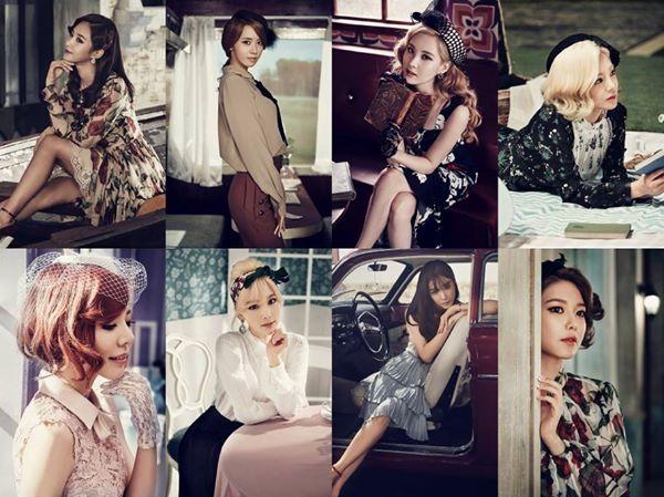 TOP 6. 少女時代 粉絲人數:7,238,525 世界排名:508(下降27名)
