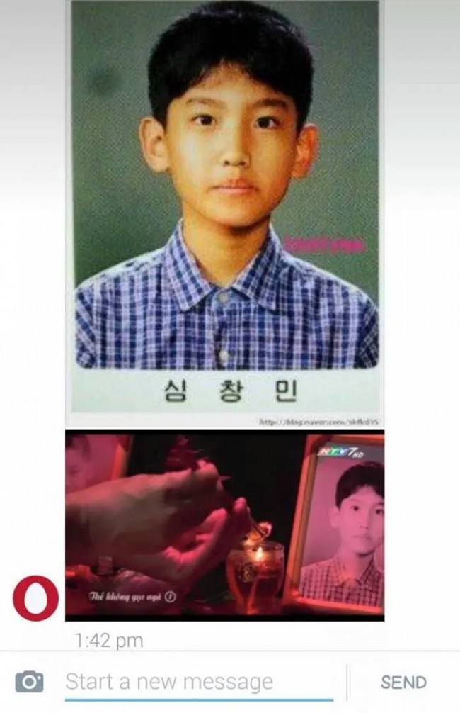 而以下那張,是越南電影拿來盜用的照片~ 阿娘威~盜用就很可惡了~還拿來當遺照~真是沒良心啊~