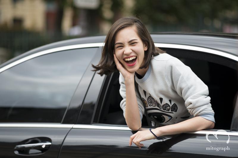 看著她的笑容,心情都感到愉快>W<