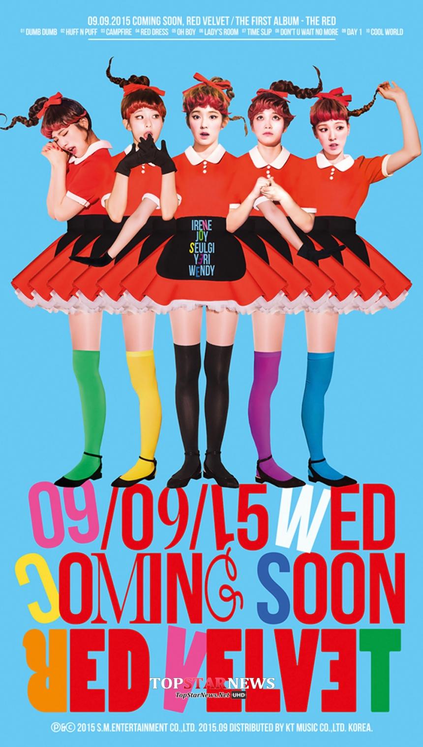 SM娛樂昨天公布的Red Velvet回歸照片中,則是換上了紅髮.....蛤...小編覺得金髮比較美說T_T