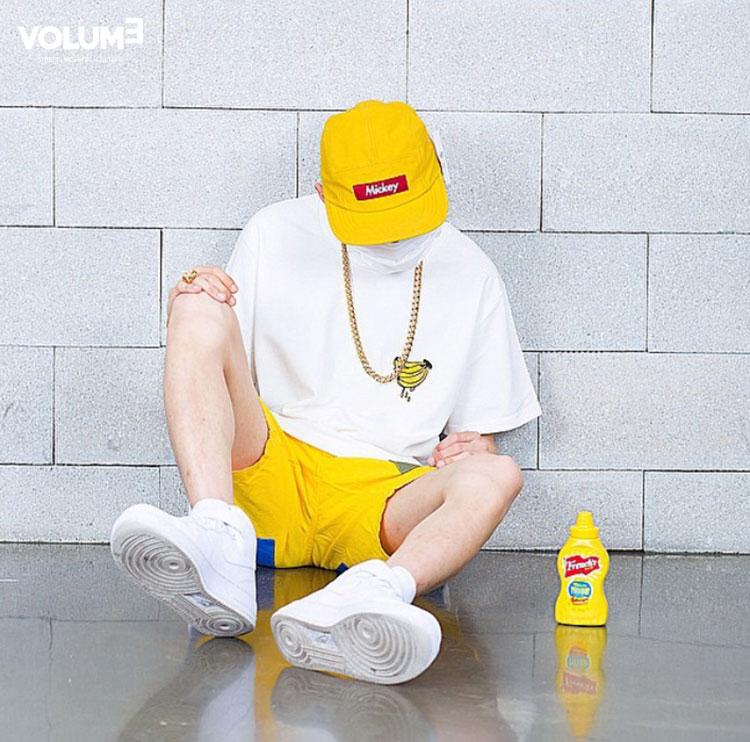 △ 色彩鮮明,讓人心情愉悅的Hip hop裝~