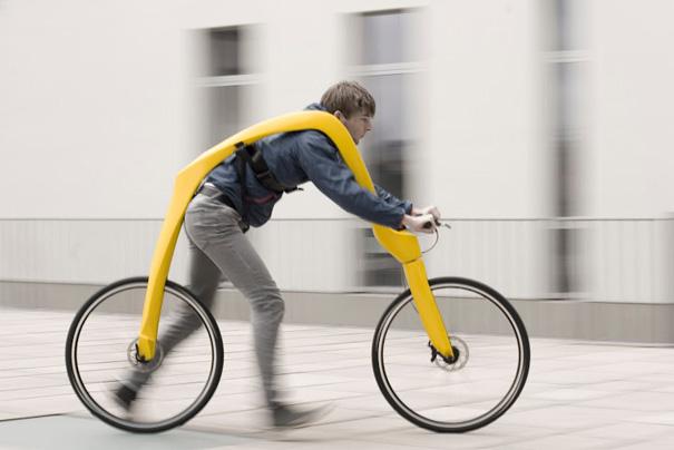 全新概念的運動產品「兩腳車」...... 跑久了不會腰疼嗎?