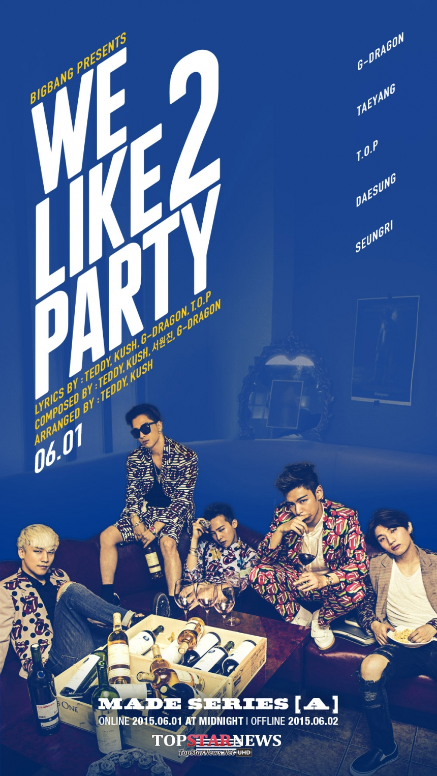 No. 11 BIGBANG - We Like 2 Party (2015.6.4) View: 2506萬