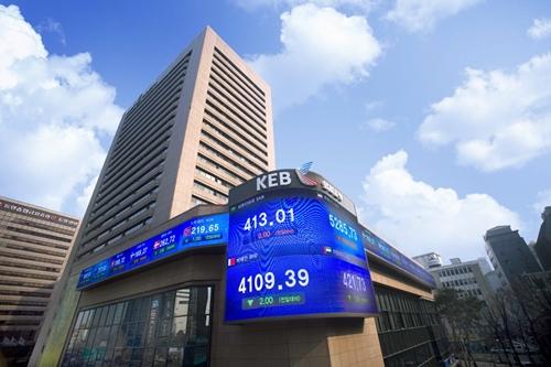 ▣ 9位. 韓國外換銀行(金融業) 平均年薪: 8919萬韓元(約合台幣262萬) 平均月薪:21.8萬台幣 職員數 : 8001 名 平均工齡 : 17.4 年