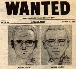 該殺手於1968年12月至1969年10月期間在加州貝尼西亞、瓦列霍、伯耶薩湖和舊金山殺害介於16歲至29歲的四名男性和三名女性。此外也有一些其他的兇殺案被認為可能是黃道帶殺手所有的決定性證據。