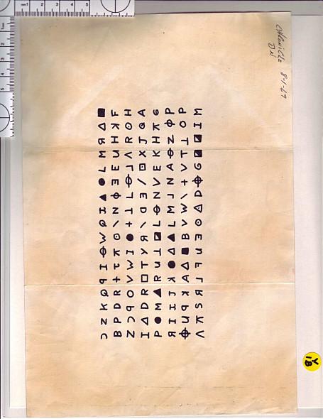 直至1974年為止,他寄送了許多封以挑釁為主的信件給媒體,並在其中署名。信件中包含了四道密碼或經過加密的內容,目前仍有三道密碼未被解開。