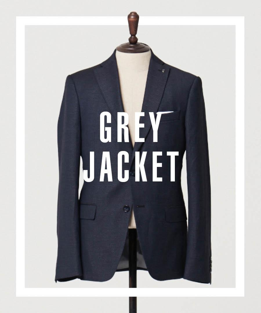 首先給大家示範的是職場範的搭配:深灰色西裝是每個男人的衣櫃裡必須有的一款顏色,灰色西裝要比其他的一些西裝來得要內斂些,灰色西裝少了一些凡夫俗套,多了一些內斂的情懷。這樣的西裝穿在身上,用最微弱的低調情操,散發出最有品味的個人魅力。