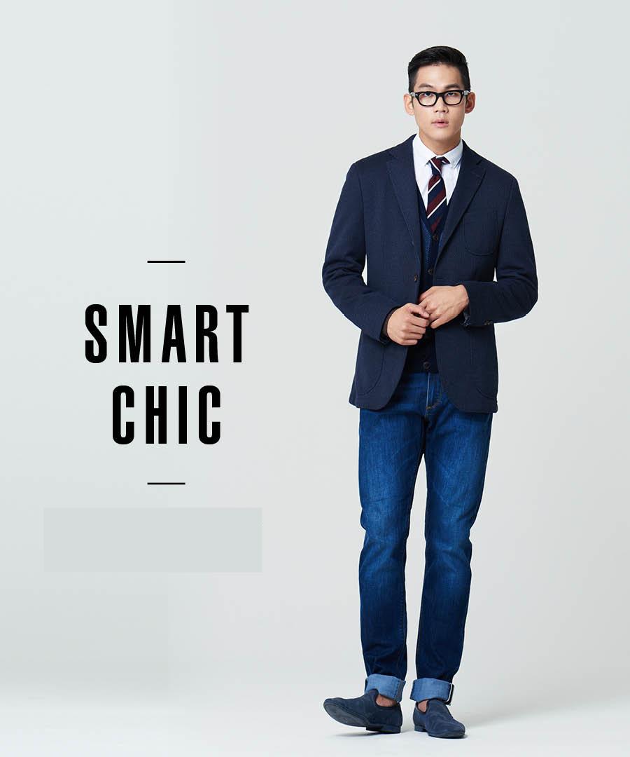 跟西裝最搭的就莫過於牛仔褲了,牛仔褲不必太緊身,最下面可以捲起來,鞋子可以選擇軟皮的。如果是想上班穿,那西裝裡面還是搭襯衫,繫上領帶,但如果是想逛街穿,那裡面就可以換上一件簡單的T恤。