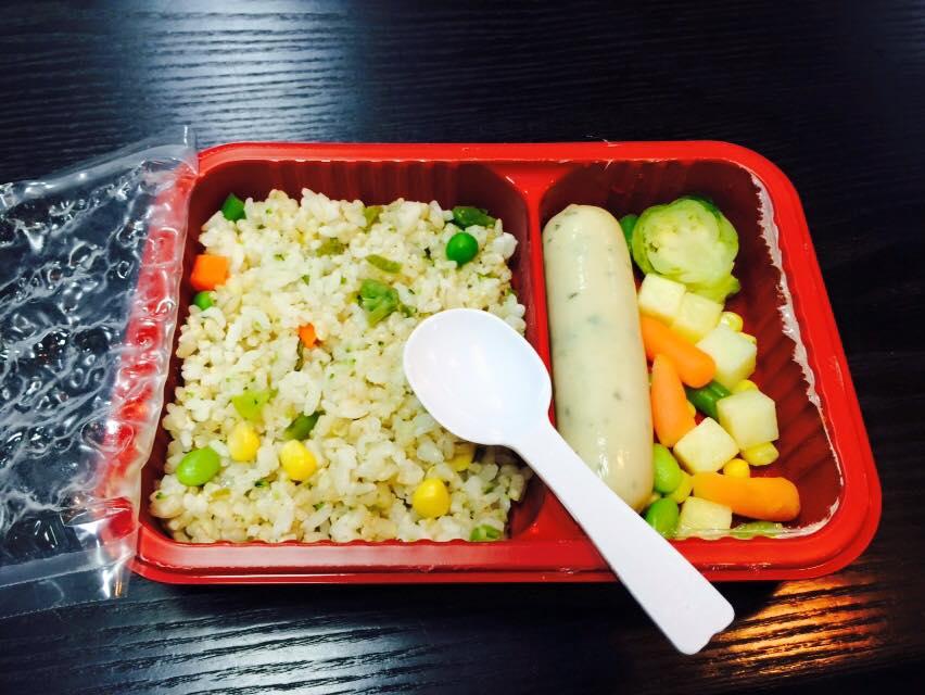 中餐:低油低鹽低糖便當