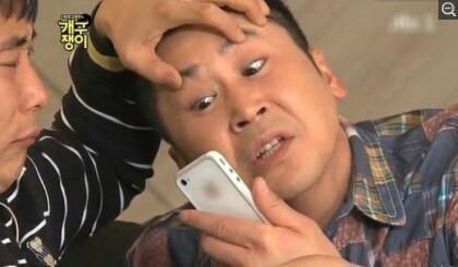 揮人的第二組模仿~經典的申東燁表情,挑戰!