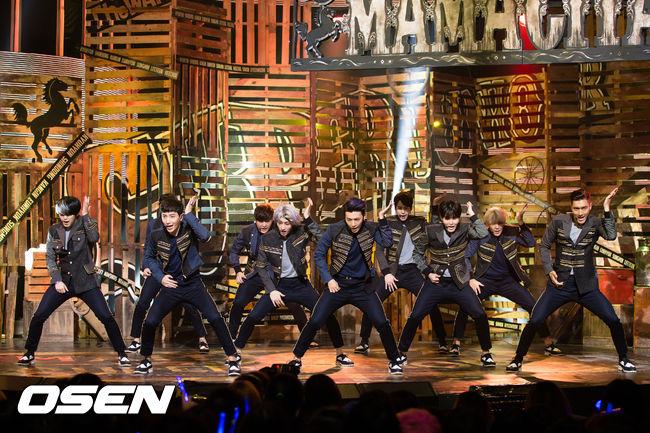 過來是曾經是最多人數的男團,Super Junior!大部分的成員都會在今年入伍