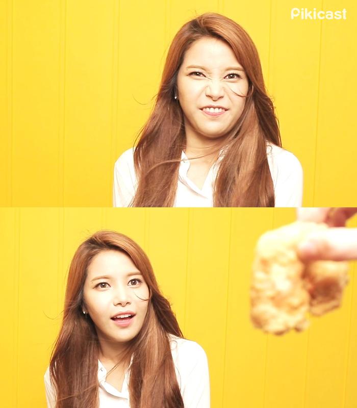 (誒....突然好想要吃炸雞呀!QQ)