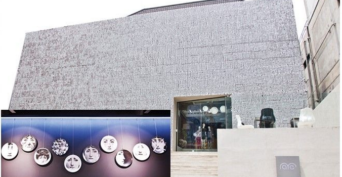 這間開在清潭洞名店區、開於Mue旁的Rare Market,樓高兩層閃著銀光的大樓相當突出。