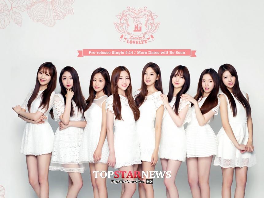 最近終於要以8人全員一起回歸的新人女團Lovelyz等,少女時代面對這白熱化的內憂外患競爭,其成果是??