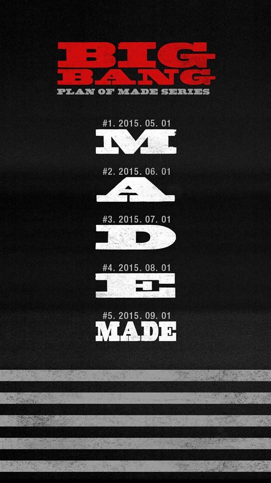不僅如此,今年BIGBANG採單月發出2張單曲的方式完成「MADE」的專輯宣傳計畫,剛奪下8月冠軍的《我們不要相愛吧》收錄在《E》裡