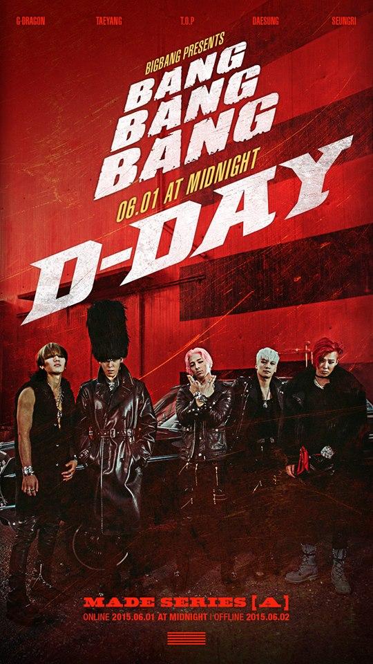 6月《A》裡面的《BANG BANG BANG》更是炒熱了夏天~成為6月份月冠軍實至名歸~