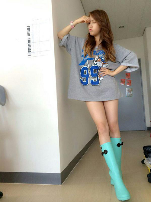 身高165公分的她,到底腿長占了多少比例?