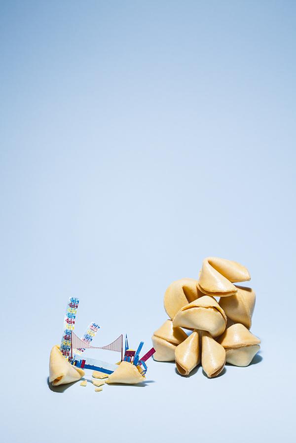 #. 舊金山 x 幸運餅乾 可愛清新的畫風+清爽的攝影