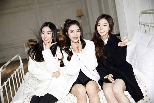 完全沒有經歷過畫質固執病時代,運氣很好的Red Velvet!XD