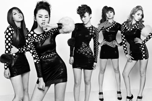 共同第3名. Wonder Girls (27次)