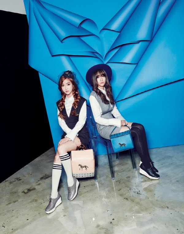 說到韓國顏值最強的姐妹花,除了Jessica和Krystal這對鄭氏姐妹,還真的想不到其他!!!