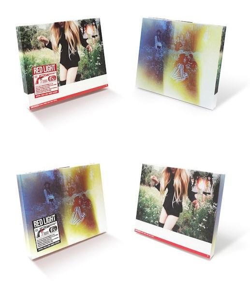 還有f(x)最近一張的正規3輯《Red Light》推出了A跟B兩種版本