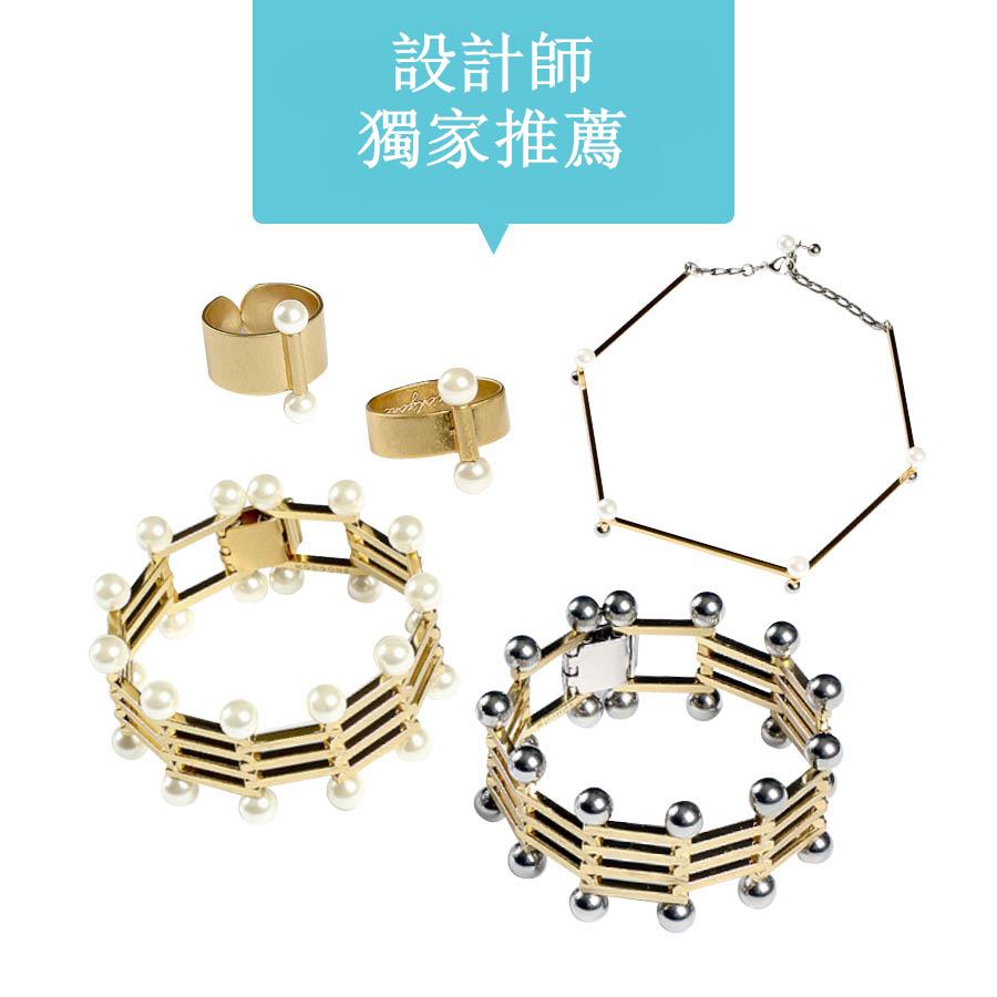 黃金+珍珠 兩種流行元素結合製成的首飾絕對會在這個秋天掀起一股潮流之風...