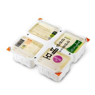如果還覺得多的話,那就買可以分成四塊的豆腐吧!....每個都標有保鮮期,可以放心使用的呢..☆