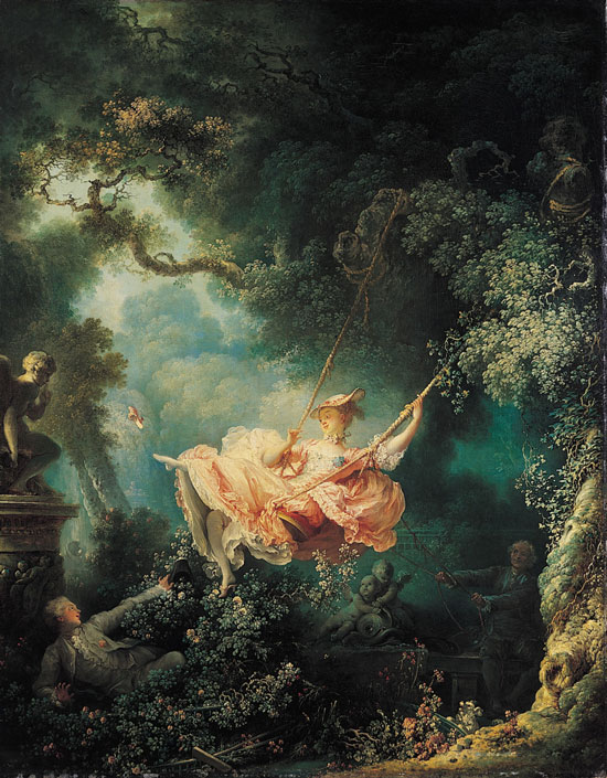 你現在看到的是讓-奧諾雷·弗拉戈納爾於1767年創作的<鞦韆>,原名為<鞦韆的幸福事故>,那到底發生了什麼事故呢?跟著小編來一探究竟吧!