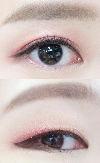 所以今天小編準備的同樣的化妝品畫出雙眼皮&單眼皮的不同感覺~