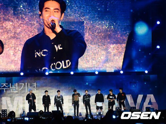 10月10日EXO要在韓國將舉辦演唱會 9月BIGBANG在台北,10月EXO在首爾,都好想去啊 ㅠㅠ