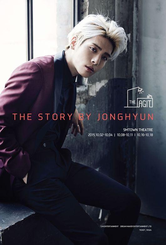 其實呢,鐘鉉是做為SM娛樂的演唱會品牌「THE AGIT」的第一位演出者,代表是SM的台柱才有這樣的信任吧~