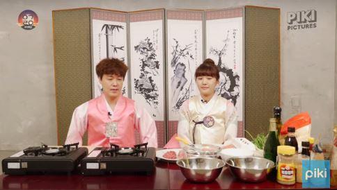還要一起圍在桌邊,吃上好多韓式餐點