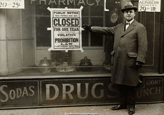 2. 美國禁酒令時代的毒藥事件