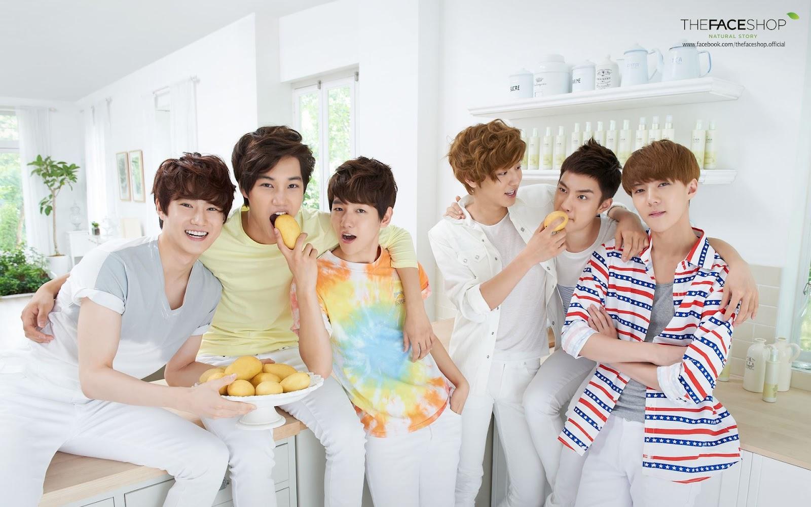 The Face Shop: EXO