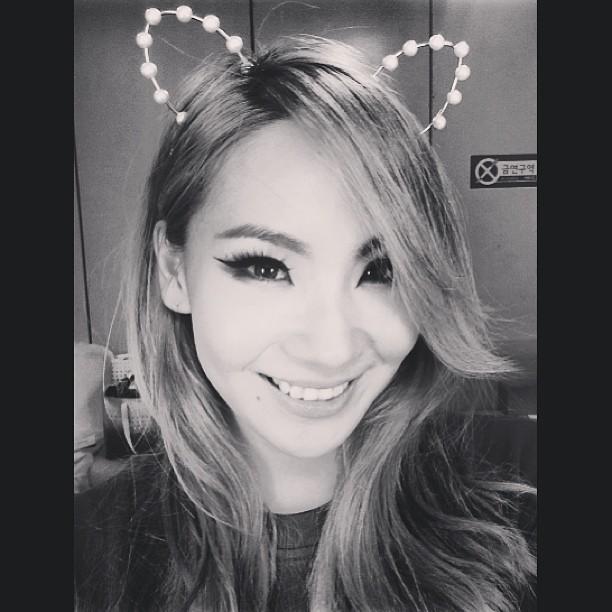 2NE1 CL雖然有時可愛