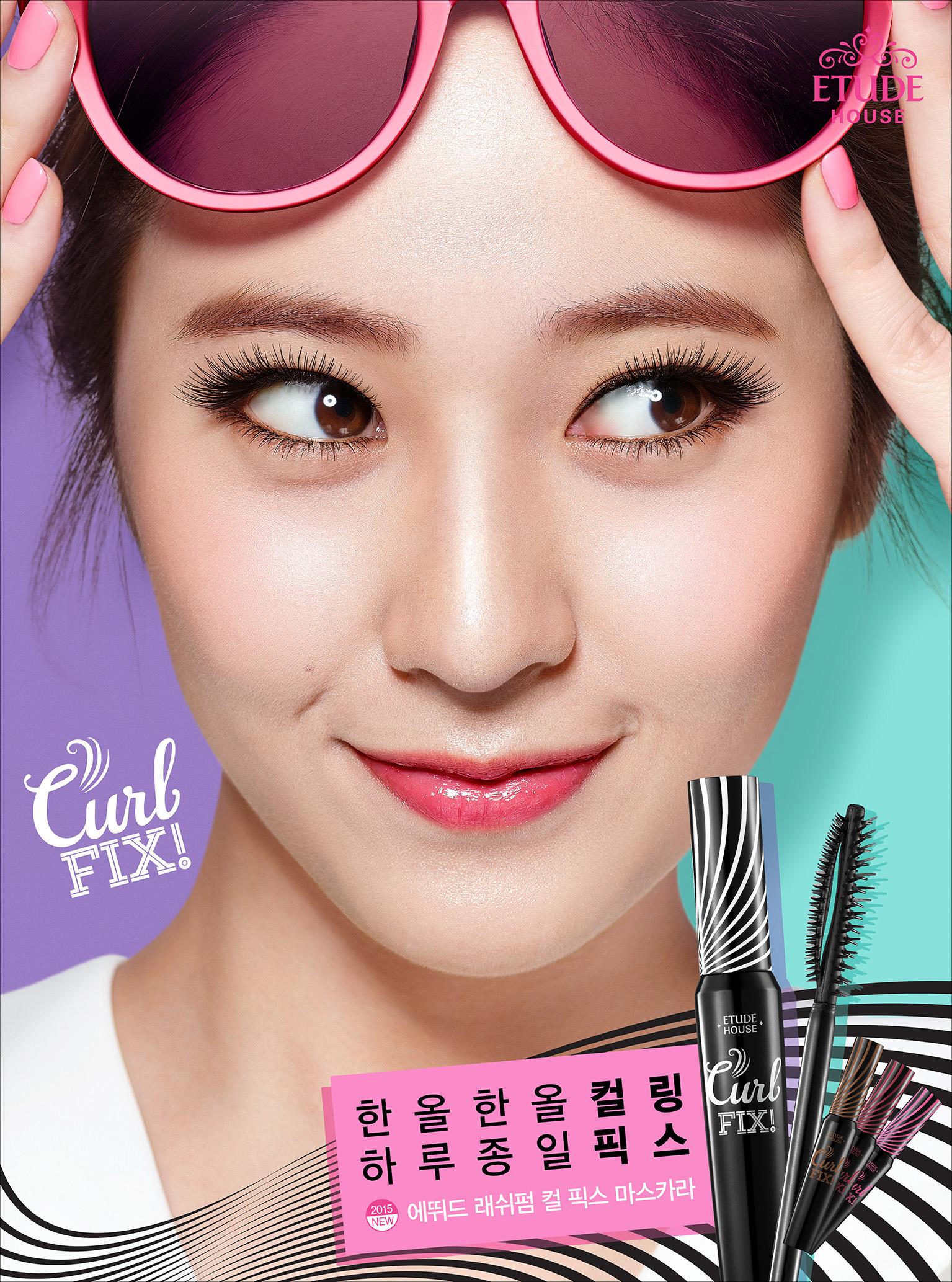 其實該品牌是繼SHINee跟f(x) Krystal與雪莉之後,第3次啟用SM娛樂藝人,但是之前的品牌形像海報就經營的很成功