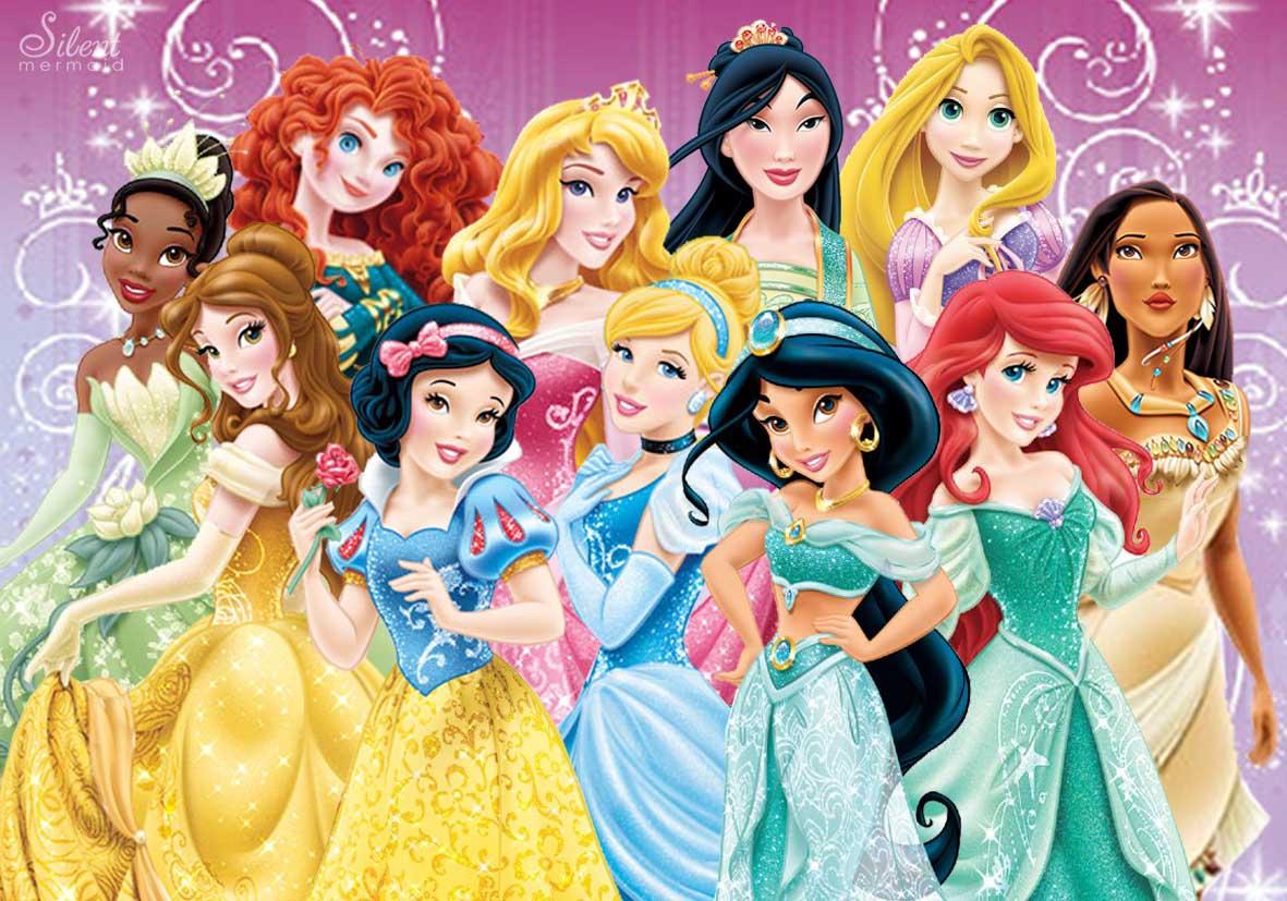 說到迪士尼 不可能不提到總是穿著各國服裝 華麗登場的公主們!