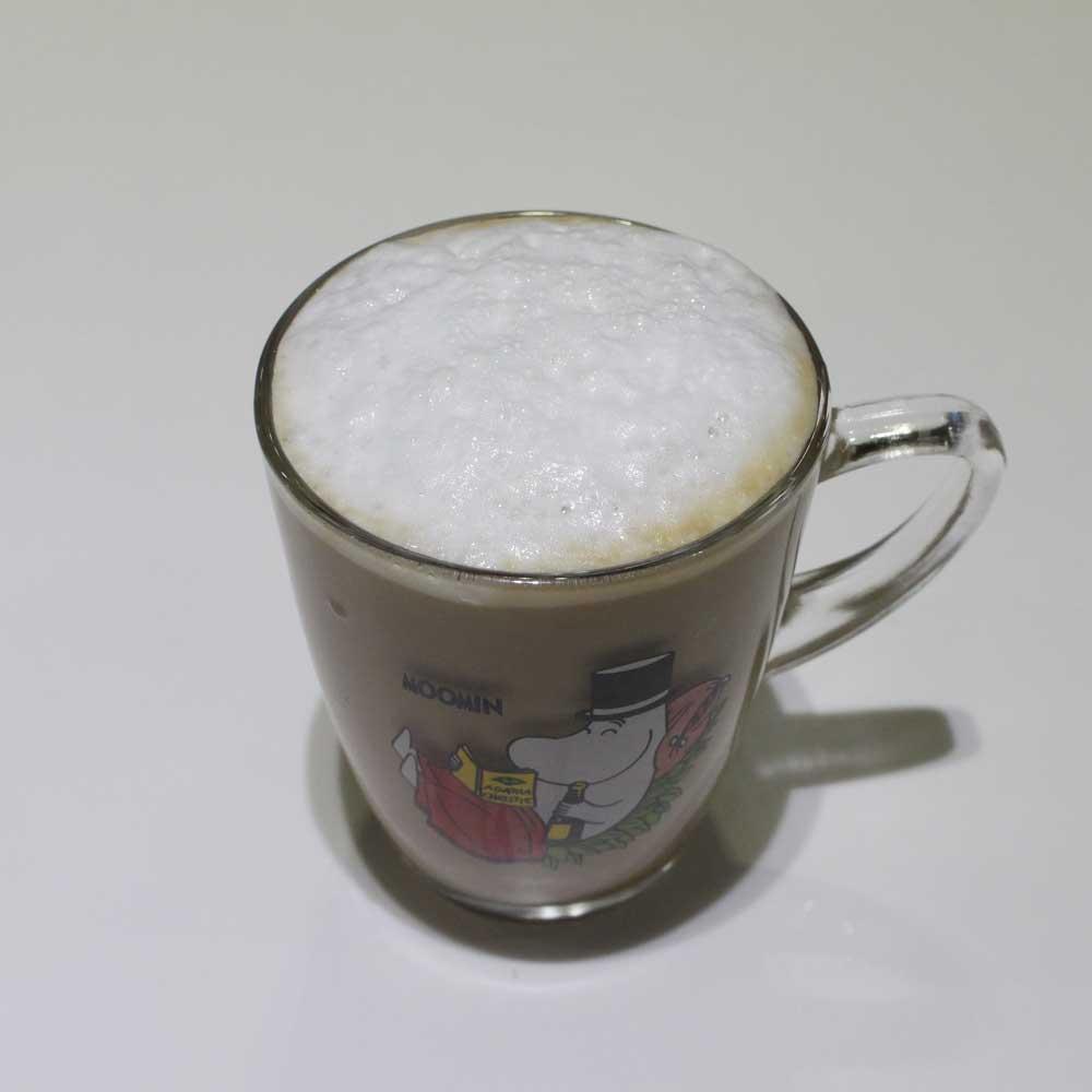 看起來是不是很有這麼回事啊? 如果家裡也有喝不完的咖啡  也可以這樣嘗試 保證順口度加倍!