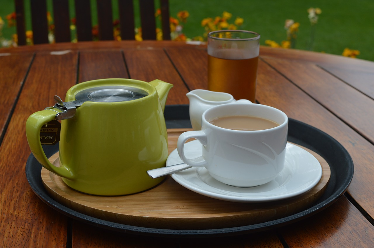 你也可以試試將咖啡替換成紅茶或綠茶 只要這一招 下午瞬間升級!