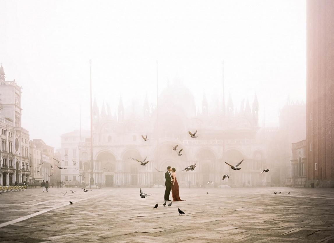 6. 威尼斯·義大利 by Koby Brown 讓鴿子,為我們搭起鵲橋。