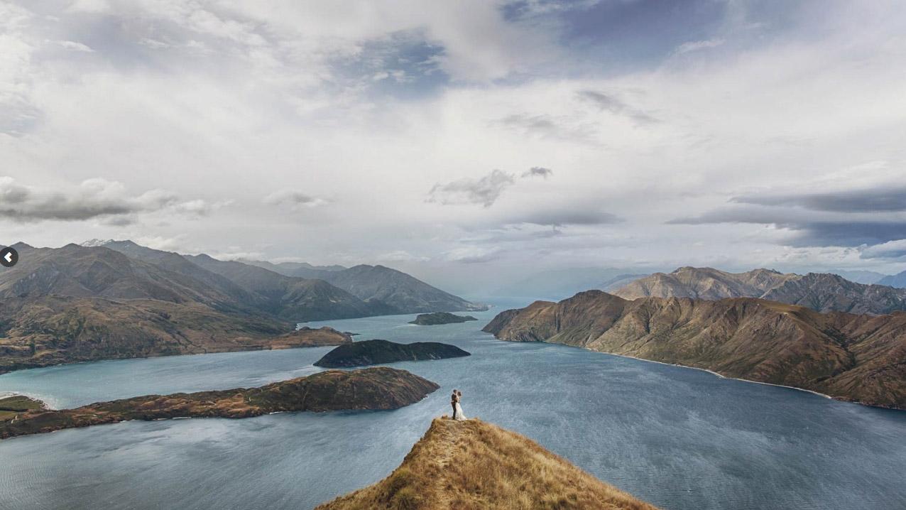 7. 瓦納卡湖·紐西蘭 by Eric Ronald 我陪你翻山越嶺,卻無心看風景。