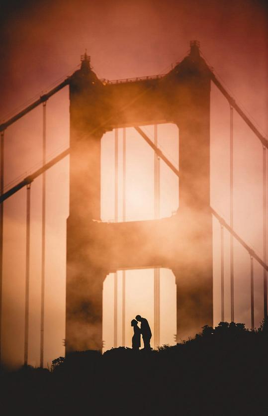 16. 舊金山·美國加州by Joe Hendricks 希望我們的愛情落幕時也如這夕陽般美好,而沒有遺憾。