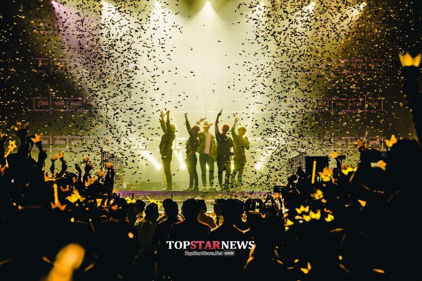 一結束台灣演唱會之後,BIGBANG馬上展開了美洲的巡迴演唱會...! 聽說TOP生病了?? 不會吧(心疼樣)